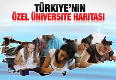 Hangi Özel Üniversite Hangi Şehirde-TYT-AYT Rehberi