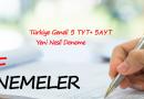 Türkiye Geneli 5 TYT + 5 AYT YENİ NESİL DENEME