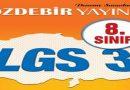 28-29 Şubat 2020 ÖZDEBİR LGS-3 Deneme Sınavı