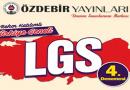 27-28 Mart 2020 ÖZDEBİR LGS-4 Deneme Sınavı