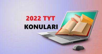 2022 TYT Konuları Ve Soru Dağılımı