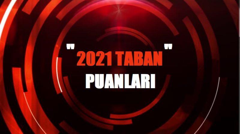 Üniversitelerin Taban Puanları ve Başarı Sıralamaları 2021