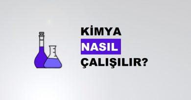 Kimya Nasıl Çalışılır?